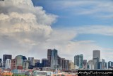 Downtown Denver from Sports Authority Field