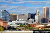 Downtown Baltimore from M&T Bank Stadium