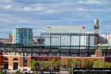 Downtown Baltimore & Camden Yards from M&T Bank Stadium