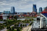 Downtown Nashville from LP Field