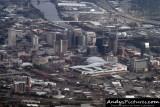 Aerial of Nashville, TN