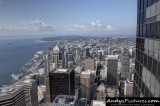 View from Columbia Center Sky View Observatory