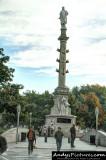 Christopher Columbus column