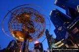 Columbus Circle & the Time Warner Towers