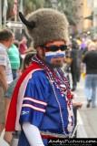 Buffalo Bills fan on Bourbon Street