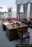 Oval Office replica - Harry Truman Library