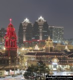 KC's Country Club Plaza at Night