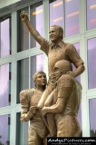 Don Shula statue at Sun Life Stadium