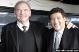 CBS Sports announcers Dan Dierdorf & Greg Gumbel