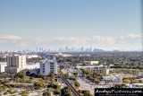 Miami Skyline from the Marriott Dadeland