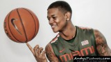 Miami Hurricanes guard Rion Brown