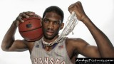 Kansas Jayhawks center Joel Embiid