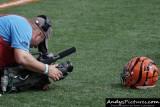 CBS Sports camera operator Chuck Denton