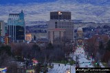 Downtown Boise from the Train Depot