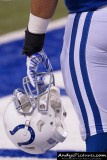 Indianapolis Colts football helmet