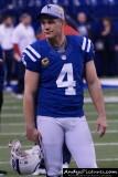 Indianapolis Colts kicker Adam Vinatieri
