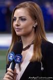 CBS Sports announcer Lauren Gardner