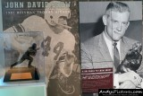 John David Crow Heisman Trophy display at Kyle Field