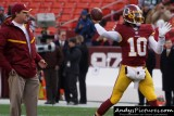 Washington Redskins head coach Jay Gruden & QB Robert Griffin III