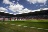 Philips Stadium with great weather