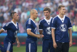 Franck Ribéry, Arjen Robben, Thomas Müller and Holger Badstuber