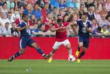 Unstoppable: Zakaria Bakkali with van Bronckhorst and Ribéry