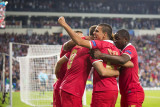 Celebrations after the goal