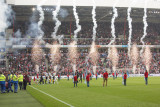 Fireworks in the Philips Stadium