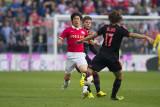 Ji-Sung Park, Lasse Schöne and Daley Blind