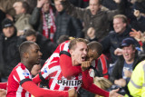 Luuk de Jong with a very important goal