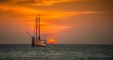 December 2013 - Personal Best - Sailboat At Sunset - Ray Rosewall
