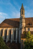 Franciscan Abbey, Rothenburg, Germany.
