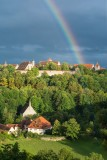 Rothenburg Rainbow,  Rothenburg, Germany