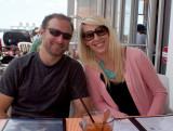 Dan and Sarah at Fleet Landing