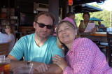 Dan and his mom at 60th