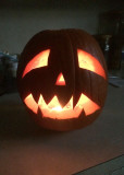 Carson's 2014 Pumpkin