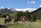 Horseback Riding in RMNP