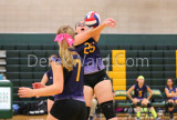 Kennedy vs Holycross volleyball 10/4/2016