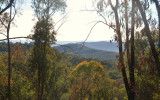 Looking over the Southern foothills of The Great Dividing Range