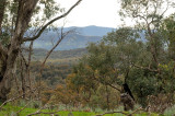 The foothills of The Great Dividing Range, looking East.