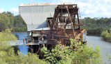 Eldorado Gold Dredge - operated from 1936 to 1954