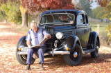 Husband's 1935 Ford Coupe - different to the one Vern showed us..