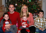 Hickman birthdays and Christmas celebrations