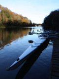 Rowing Boat on the Wear, Durham