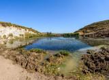 The pond. Panorama.