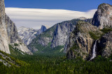Yosemite - Tunnel View point