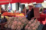 Happy at the Market