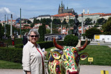 Ann with Cow
