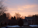 Another colorful early morning in Gaithersburg