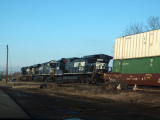 March 9th - Norfolk Southern locomotives